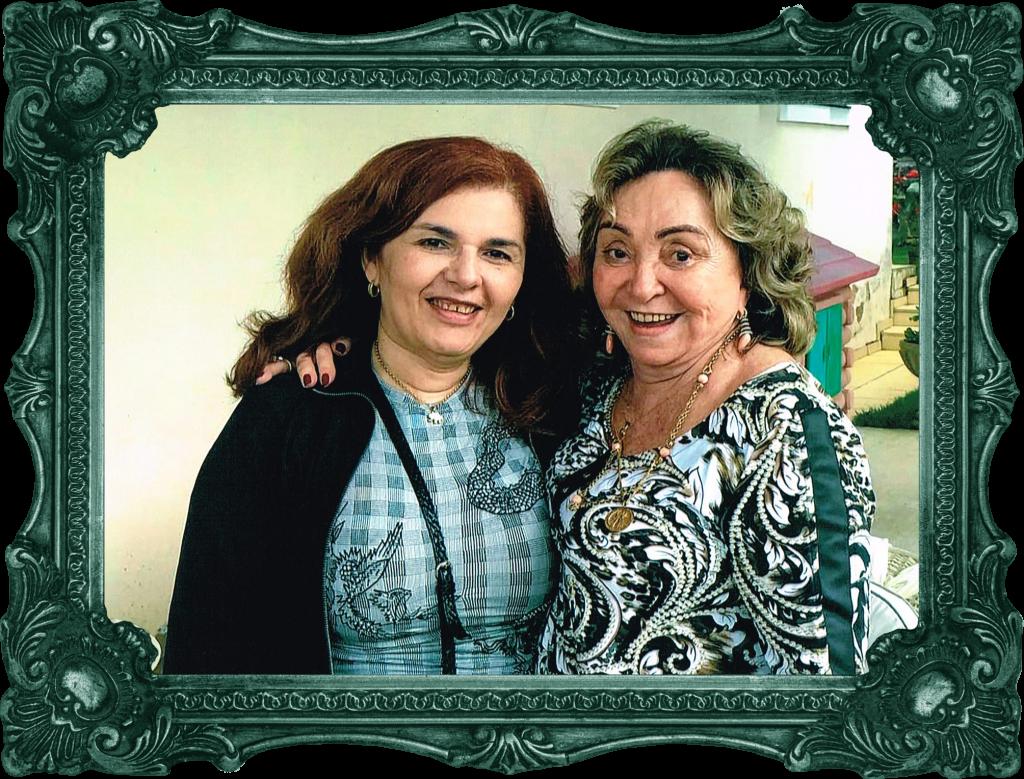 Laíse Carvalho e Wilma Patrício